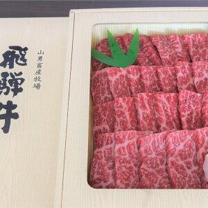 【ふるさと納税】飛騨牛 もも モモ肉 焼肉用 500g 牛肉 和牛 肉 お歳暮[D0030]