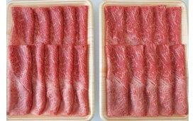 【ふるさと納税】[A5等級]飛騨牛赤身肉すき焼き・しゃぶしゃぶ用 1kg(500g×2パック)『モモ・カタ肉』 [0164]