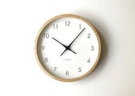 【ふるさと納税】KATOMOKU ホワイトアッシュの無垢材の木枠電波時計