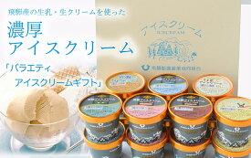 【ふるさと納税】飛騨酪農「バラエティアイスクリームギフト」12個入り