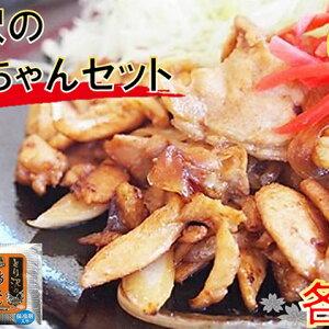 【ふるさと納税】とり沢の鶏ちゃんセット(海津) 【お肉・鶏肉】
