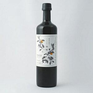 【ふるさと納税】100%天然発酵ハリヨの柿酢 生搾り720ml 【調味料】
