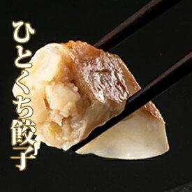 【ふるさと納税】優しい玉ねぎの味、一口餃子4袋計100個セット 【肉の加工品・加工品・惣菜・冷凍・餃子・ぎょうざ】
