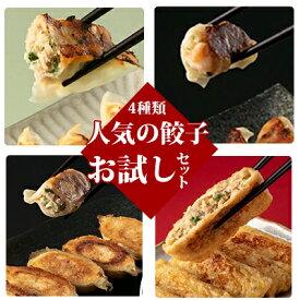 【ふるさと納税】人気の餃子お試しセット 【加工品・惣菜・冷凍・肉の加工品・餃子・ギョウザ】