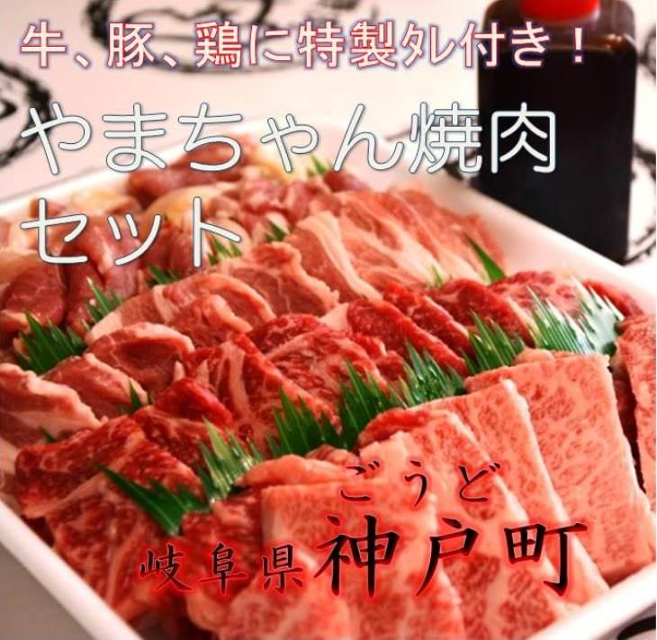 【ふるさと納税】2102 やまちゃん焼肉セット
