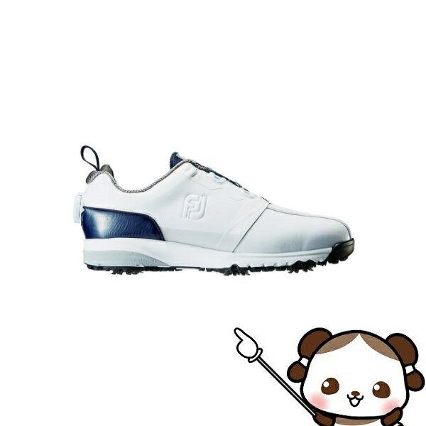 【ふるさと納税】フットジョイ ゴルフシューズ メンズ ULTRA FIT Boa(ウルトラフィットボア)【ホワイト・ネイビー】