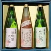 【ふるさと納税】純米酒「半布里戸籍」・本醸造酒「加治田城」・「黒米酒」3本