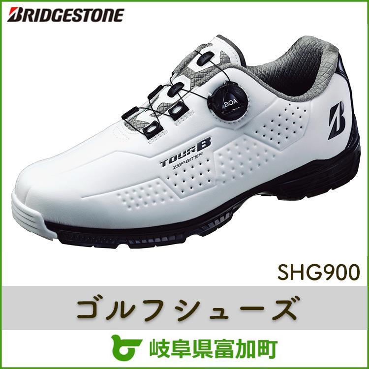 【ふるさと納税】ブリヂストンゴルフシューズ SHG900【ホワイト×ブラック】