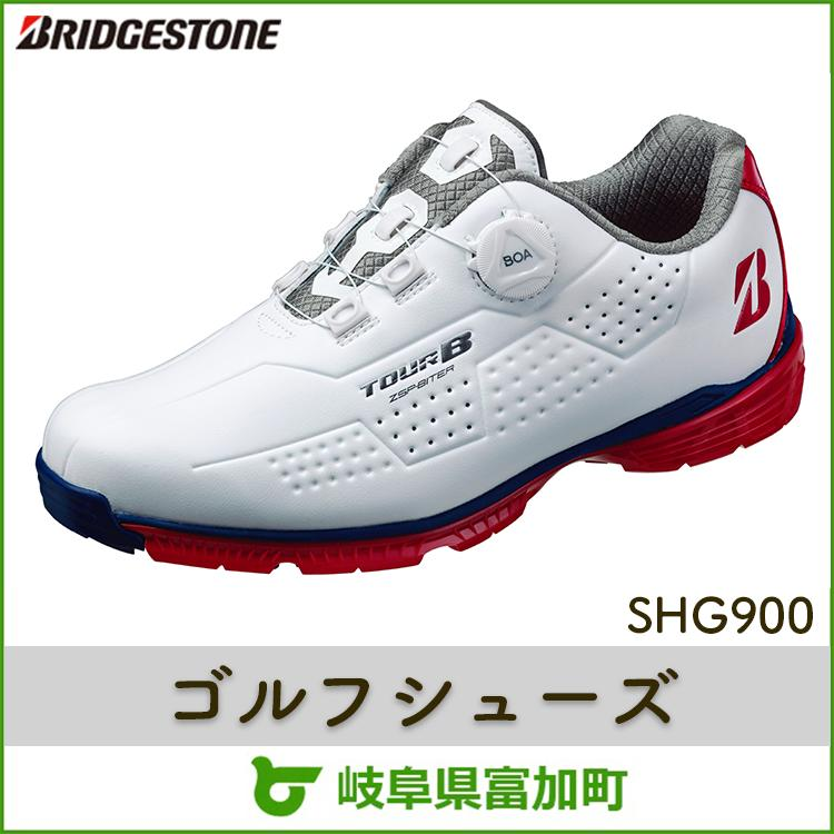 【ふるさと納税】ブリヂストンゴルフシューズ SHG900【トリコロール】
