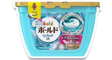 【ふるさと納税】ボールド ジェルボール3D[爽やかプレミアムクリーンの香り]詰替え(1袋18個入)×12袋
