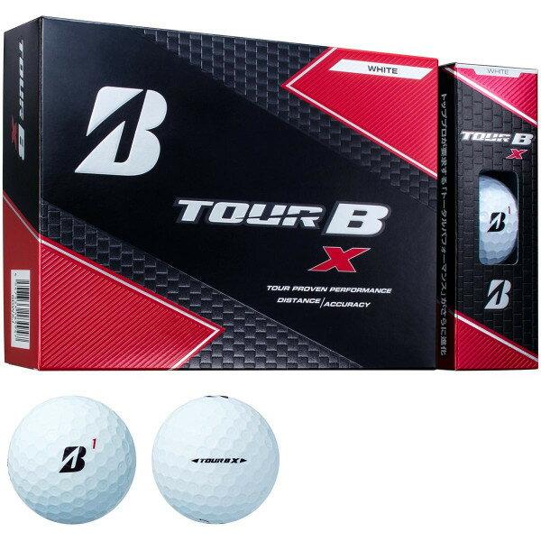 【ふるさと納税】ゴルフボール ブリヂストン TOUR B X Bマーク(ホワイト)3ダース36球セット