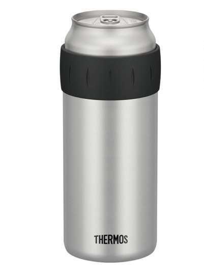 【ふるさと納税】サーモス 保冷缶ホルダー(500ml缶用)シルバー