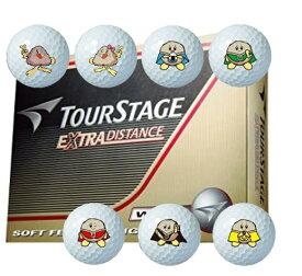 【ふるさと納税】※ゴルフボール ブリヂストン ツアーステージ EXTRA DISTANCE レッキーマーク(ホワイト)1ダース12球セット
