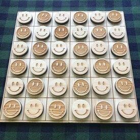 【ふるさと納税】 おもちゃ 木育 オセロ風ボードゲーム 県産ヒノキ 無垢材 ニコちゃん 贈り物 ギフト プレゼント 送料無料