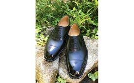 【ふるさと納税】ハンド・ソーン・ウェルテッド製法の革靴