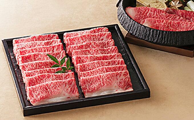 【ふるさと納税】しずおか和牛 すき焼き用800g (牛肉・牛ロース肉)