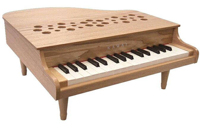 【ふるさと納税】KAWAIミニグランドピアノP‐32ナチュラル(1164) 【玩具・おもちゃ・楽器・河合楽器】
