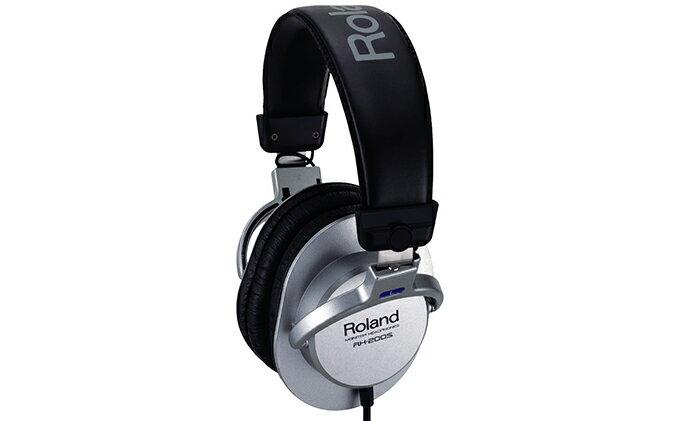 【ふるさと納税】Roland ヘッドホン RH−200S 【雑貨・日用品・音楽機器】