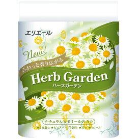【ふるさと納税】エリエールトイレットティシュー ハーブガーデン ナチュラルカモミールの香り 3枚重ね 48個 パルプ100%