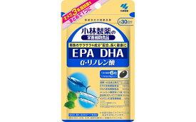 【ふるさと納税】EPA DHA サプリメント 小林製薬「EPA DHA α−リノレン酸」180粒 30日分 健康食品 加工食品 栄養補助食品 静岡県富士宮市