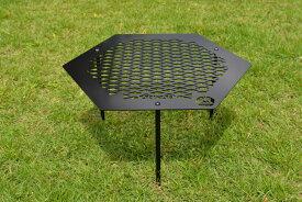 【ふるさと納税】ANCAM(アナキャン)オリジナルメタルテーブル メタヘキテ Lサイズ 静岡県富士宮市