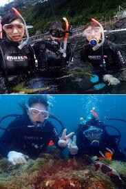 W03【定期便 全3回】日帰りでOK!伊東・城ヶ崎の海で1日体験ダイビング(1名様) 毎月1回×3回【ふるさと納税】