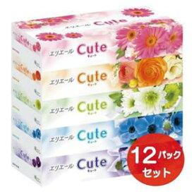 【ふるさと納税】エリエール キュートティシュー 5箱×12パック 60箱