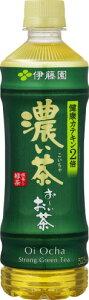 【ふるさと納税】伊藤園 おーいお茶 濃い茶 525ml PET × 24本 [機能性表示食品]