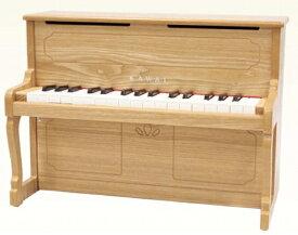 【ふるさと納税】カワイミニアップライトピアノ(1154 ナチュラル)