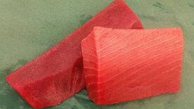 【ふるさと納税】a17-020 『まぐろの魚二』天然本鮪中トロ・赤身約400gセット