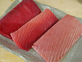 【ふるさと納税】a40-076 『鮪の魚二』天然南鮪大トロ中トロ赤身約800gセット