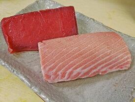 【ふるさと納税】a50-097 『まぐろの魚二』天然南鮪大トロ・赤身約800gセット