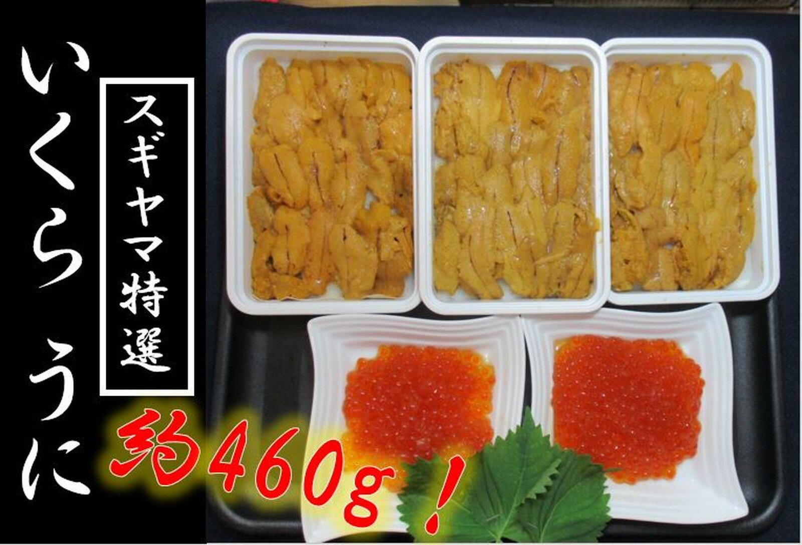 【ふるさと納税】c10-027 スギヤマ特選 いくら2うに3 ドッサリ!