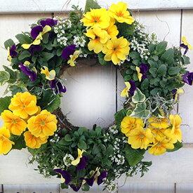 【ふるさと納税】ハンギングリース寄せ植え 季節のおまかせ 【花】