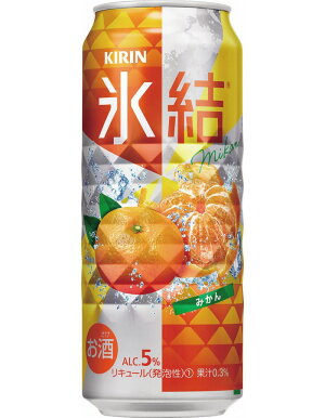 キリン氷結みかん500ml1ケース(24本)【お酒チューハイ】