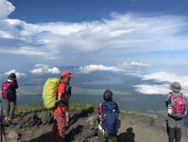 【ふるさと納税】プロガイド付き富士登山!1泊2日ツアー(ペア)【富士山 登山 体験 宿泊】