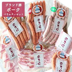 【ふるさと納税】静岡ブランド豚ふじのくにいきいきポークのバラエティセット 【お肉・ソーセージ・加工品・豚肉・ぶた肉・詰め合わせ】