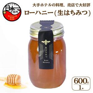 【ふるさと納税】 生はちみつ 国産 非加熱 ビタミン ミネラル 美容 無添加 発酵食品 600g