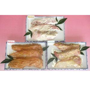 【ふるさと納税】伊豆の味 かねた水産自慢のきんめ鯛漬け魚3種類、味比べセット 【金目鯛・魚貝類・漬魚・味噌漬け・粕漬け】