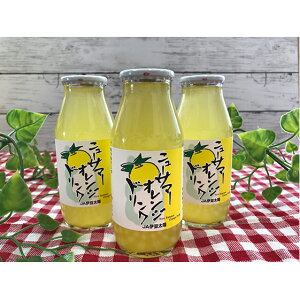 【ふるさと納税】ニューサマーオレンジドリンク10本セット 【果汁飲料・ジュース】