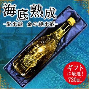 【ふるさと納税】海底熟成酒 VOYAGE【愛米魅 I MY ME 金の純米酒】