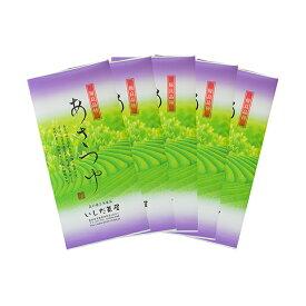 【ふるさと納税】優良品種茶「あさつゆ」100g入 5袋 【飲料類・お茶・茶葉・煎茶・日本茶・セット】