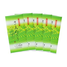 【ふるさと納税】優良品種茶「さえみどり」100g入 5袋 【飲料類・お茶・煎茶・日本茶・セット】