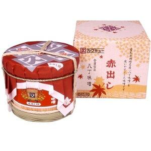 【ふるさと納税】赤出し味噌 化粧樽 1.6kg(400g×4袋)【1200019】