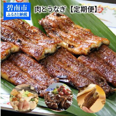 【ふるさと納税】《12ヶ月定期便》碧南市 うなぎとお肉 H028-007