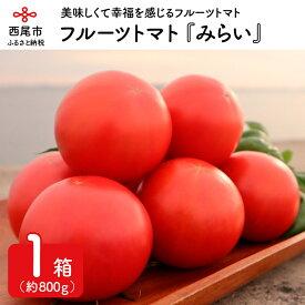 【ふるさと納税】M005.フルーツトマト『みらい』