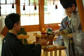 【ふるさと納税】540-1_犬山城下町 針綱神社で神前挙式