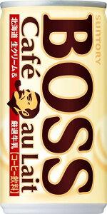 ボス カフェオレ 185g×30本 缶