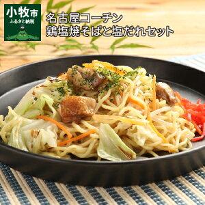 【ふるさと納税】名古屋コーチン鶏塩焼そばと塩だれセット