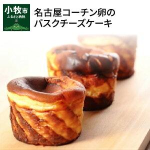 【ふるさと納税】名古屋コーチン卵のバスクチーズケーキ 冷凍 しっとり 濃厚